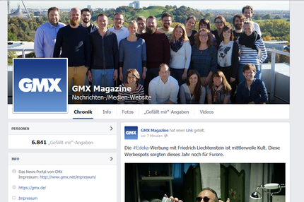 GMX Magazine Facebook