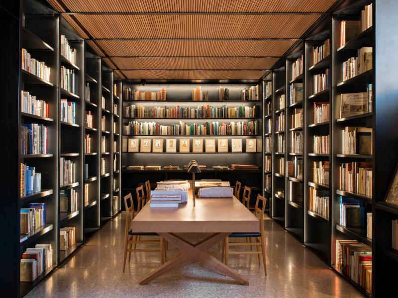 Bild zu Bibliothek