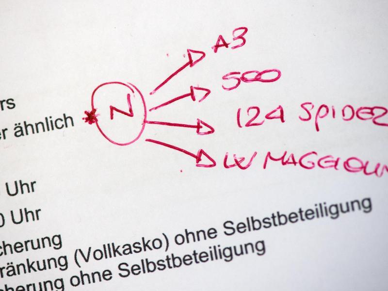 Bild zu Handschriftliche Vermerke