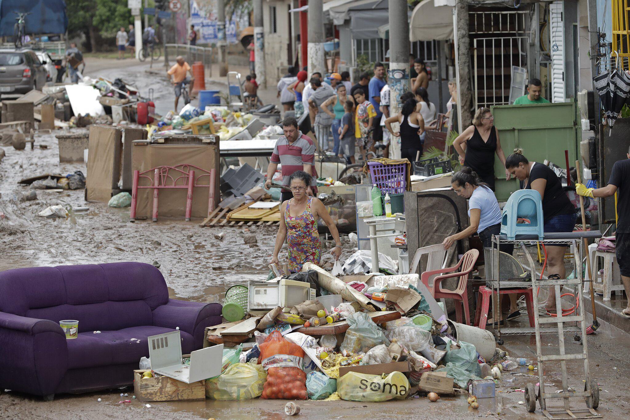 Bild zu Unwetter in Brasilien