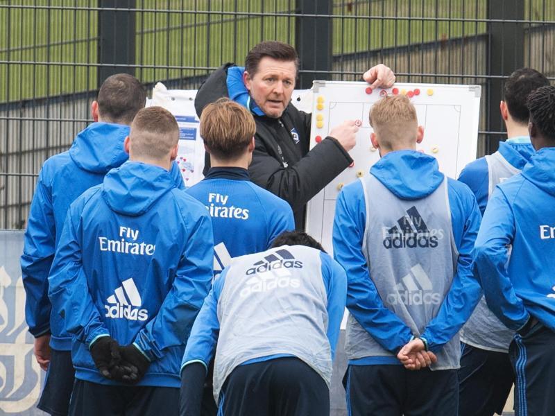 Bild zu Training Hamburger SV mit neuem Trainer