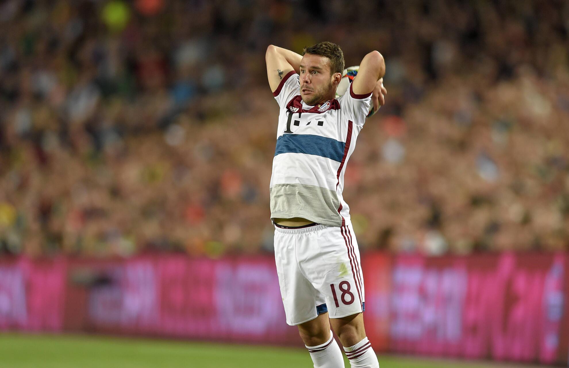 Bild zu Liveticker: FC Bayern München gegen den FC Barcelona im Halbfinale der Champions League.