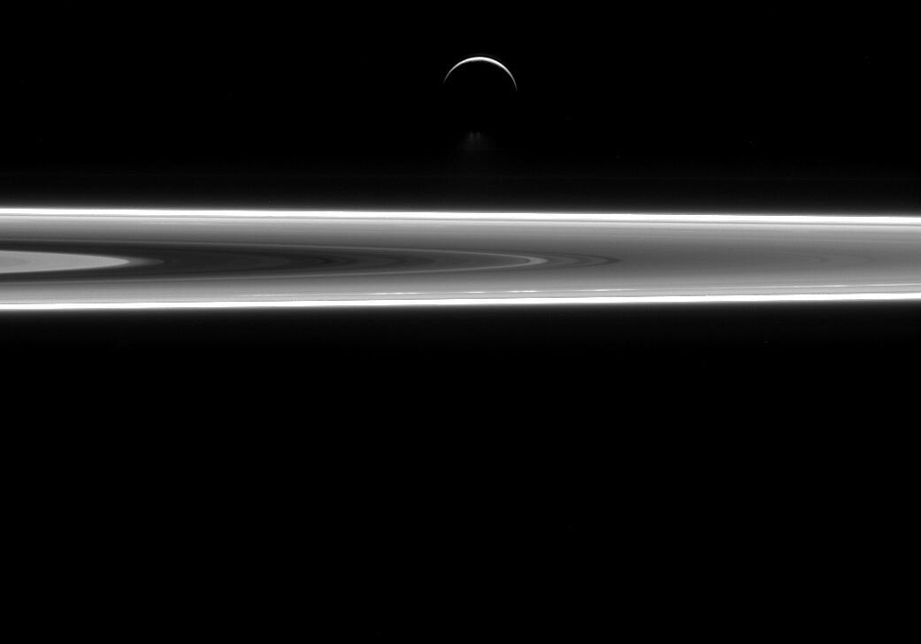 Bild zu Enceladus