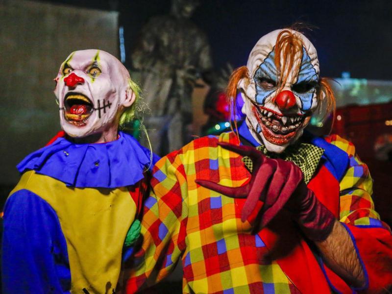 Bild zu «Grusel-Clowns»