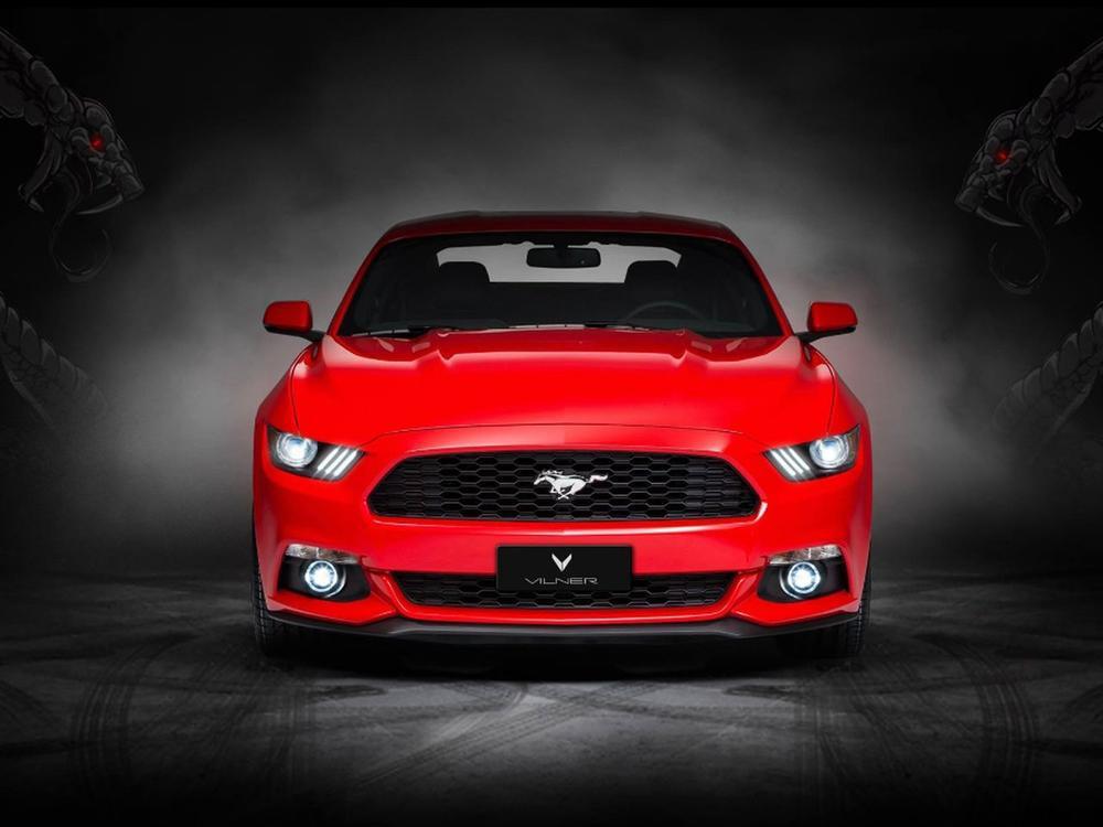 Bild zu Ford Mustang mit Pferdeleder