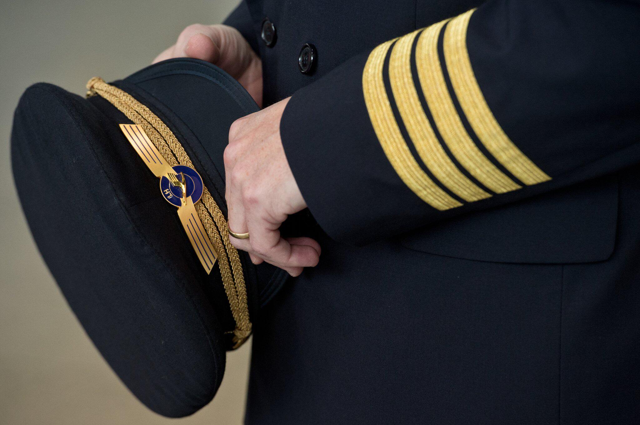 Bild zu Lufthansa-Pilot