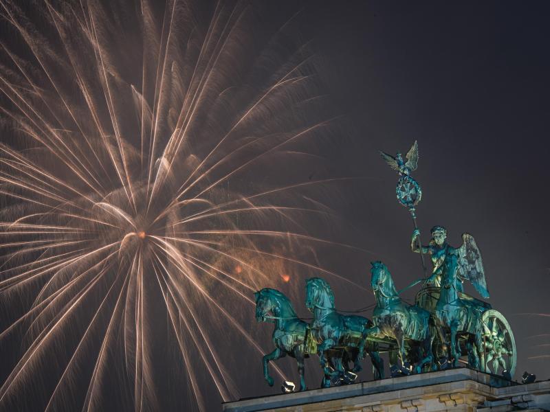 Bild zu Silvester in Berlin