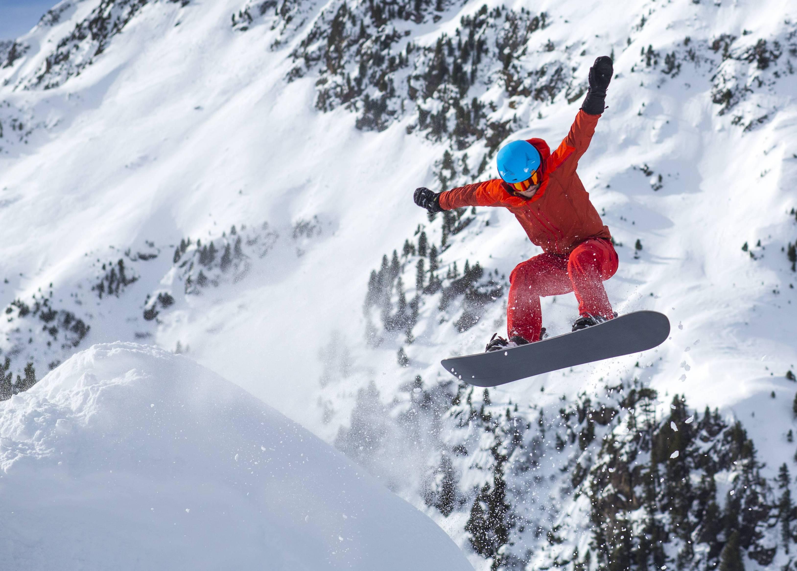 Bild zu Adrenalin Stress Snowboard