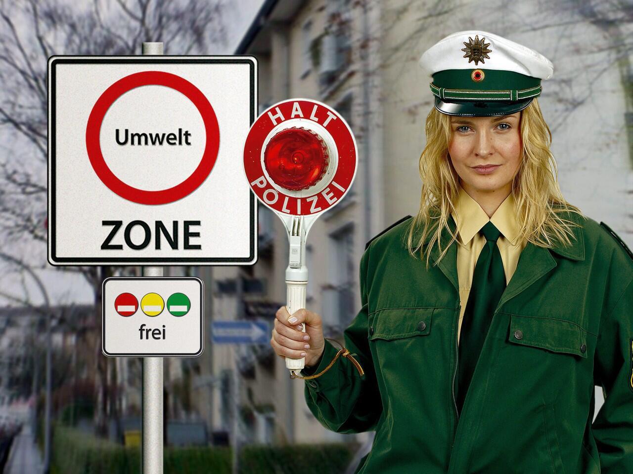 Bild zu Umweltzonen in Deutschland: Einfahrt nur mit entsprechender Feinstaubplakette