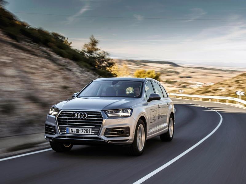 Bild zu Audi Q7 E-Tron