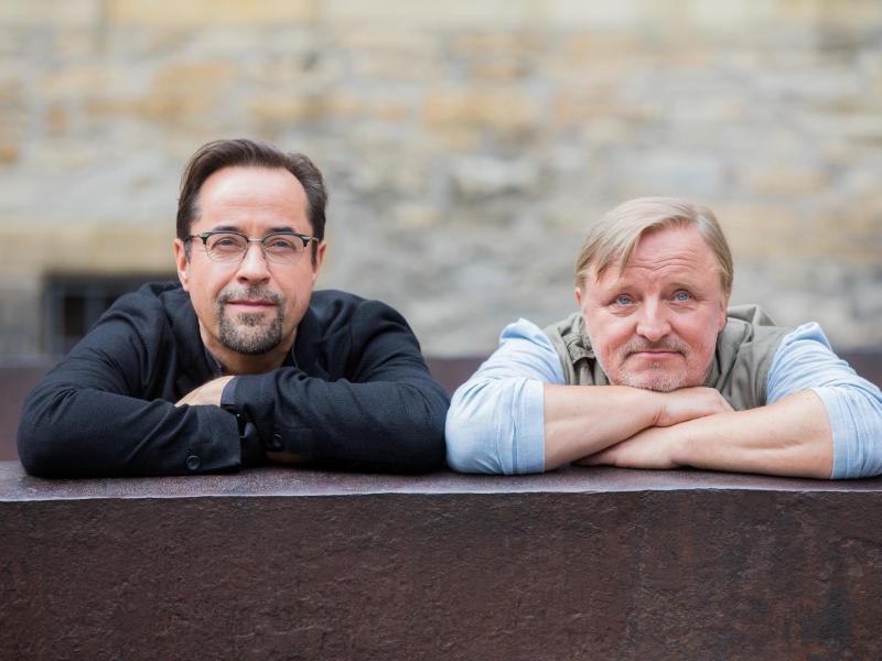 Bild zu Jan Josef Liefers und Axel Prahl