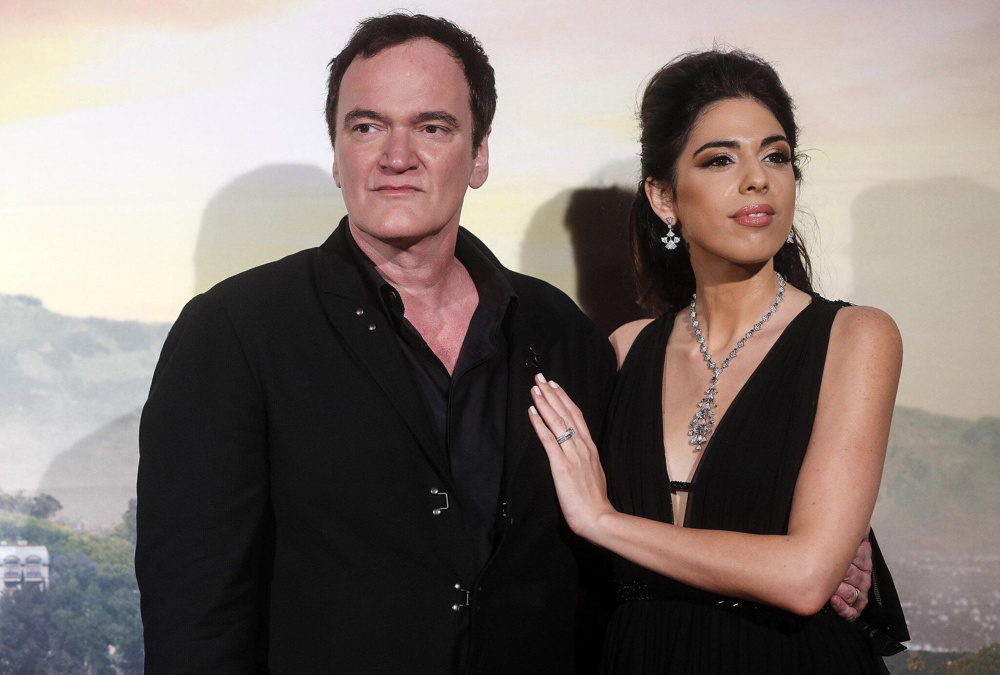 Bild zu Regisseur Tarantino stellt neuen Film in Rom vor