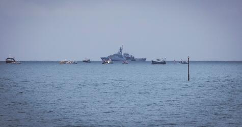Französische Fischer blockieren Hafen von Jersey
