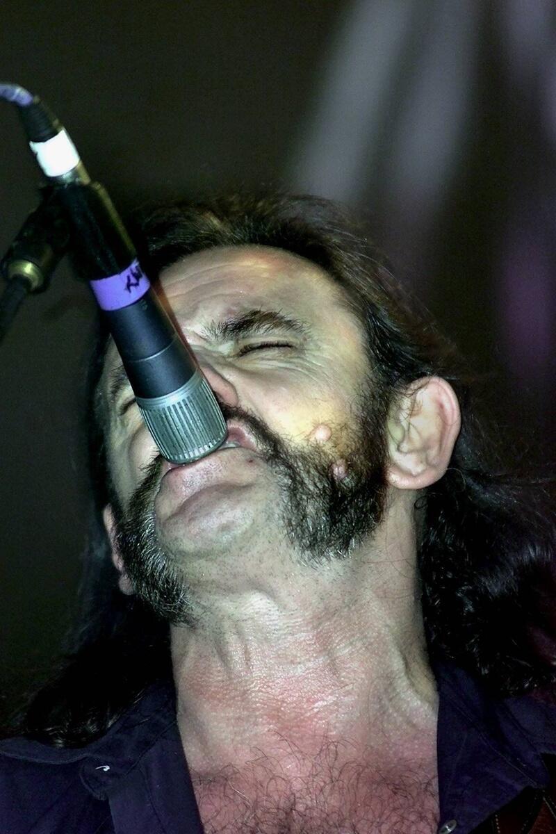 Bild zu Lemmy und sein Mikro-Tick