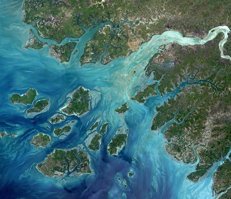 Bild zu Die zerklüftete Küste von Guinea-Bissau