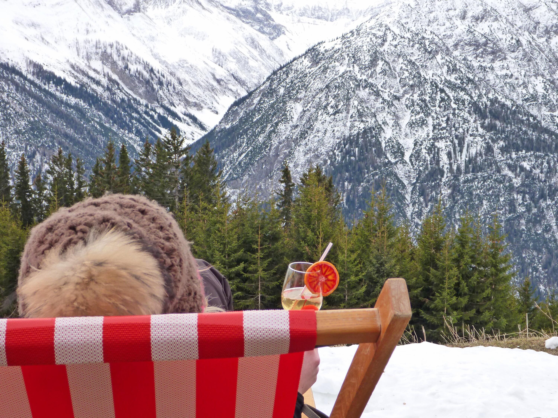 Bild zu Genussvoller Blick über die Lechtaler Berge.