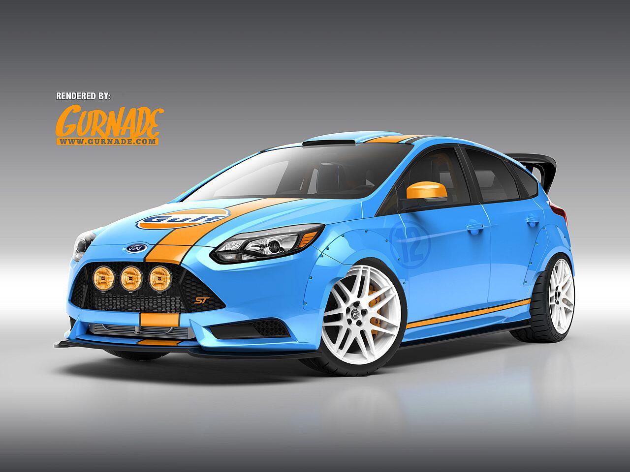 Bild zu Ford Focus ST getunt von UTI