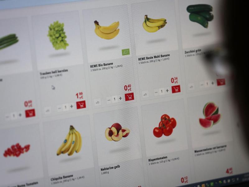 Bild zu Lebensmittel im Internet