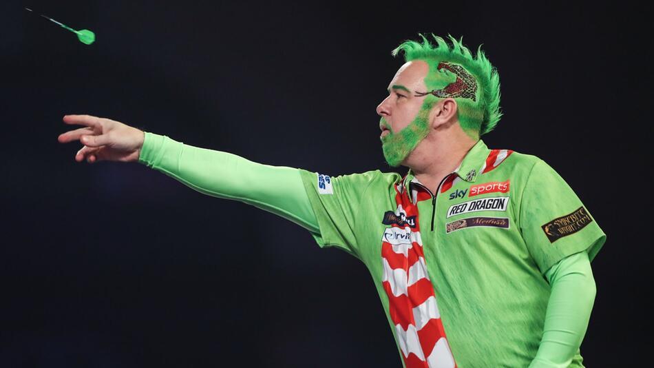 Peter Wright. Darts-WM