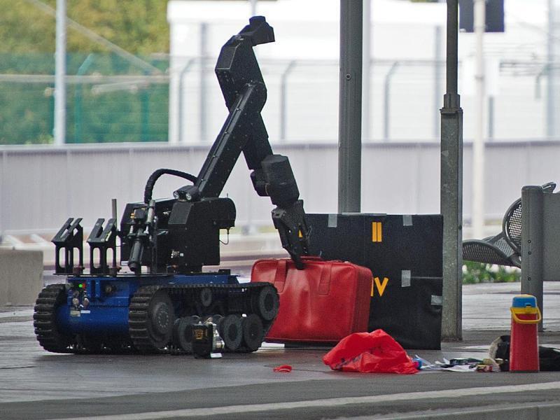 Bild zu Roboter zur Bombenentschärfung