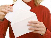 Bild zu Briefumschlag