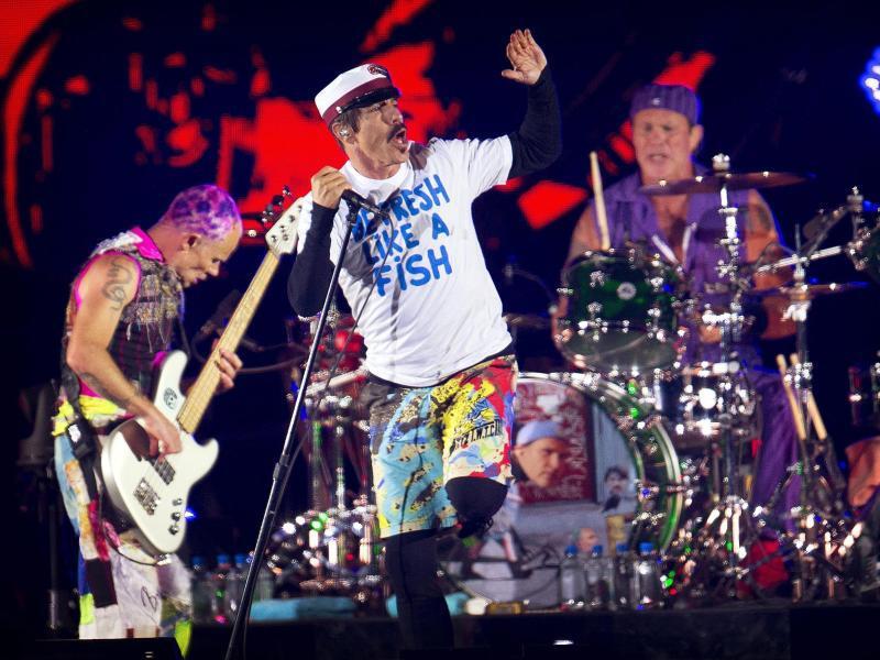 Bild zu The Red Hot Chili Peppers