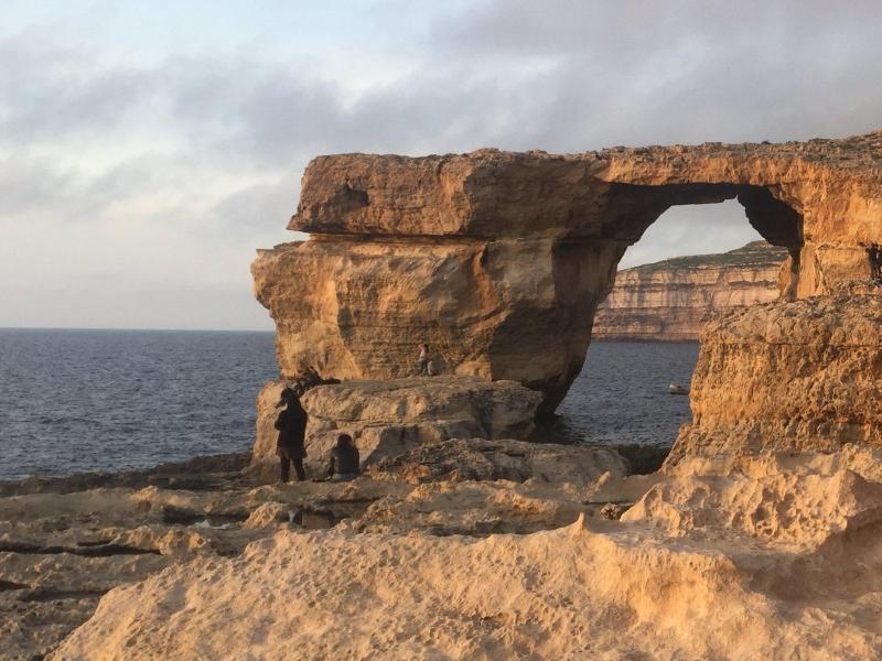 Bild zu Felsentor auf Malta zerstört