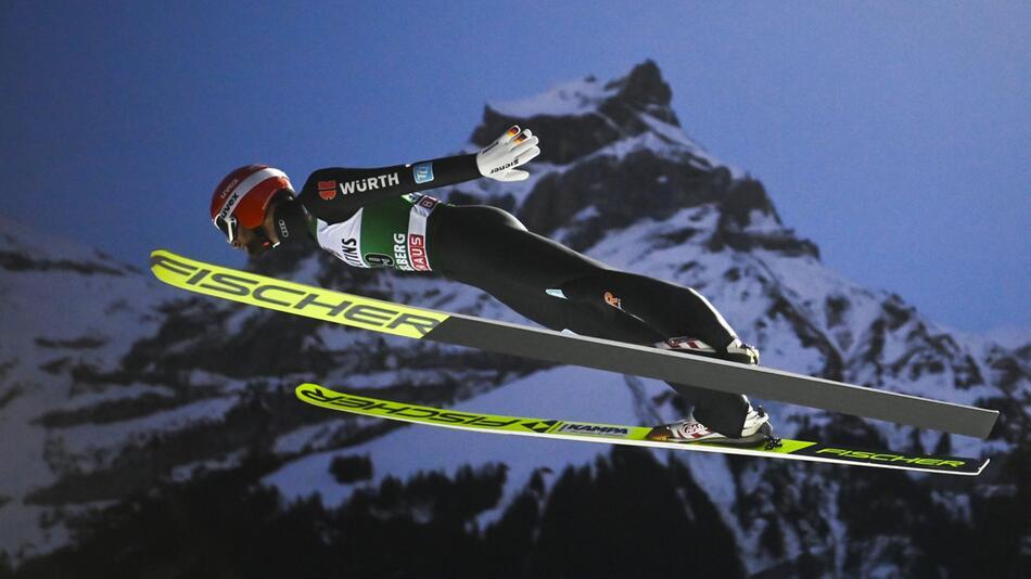 Skispringen - Weltcup in Engelberg