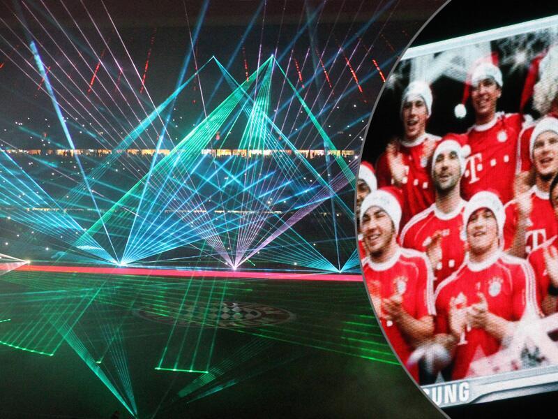 Bild zu Bayern München gegen Hamburger SV: Weihnachtsshow