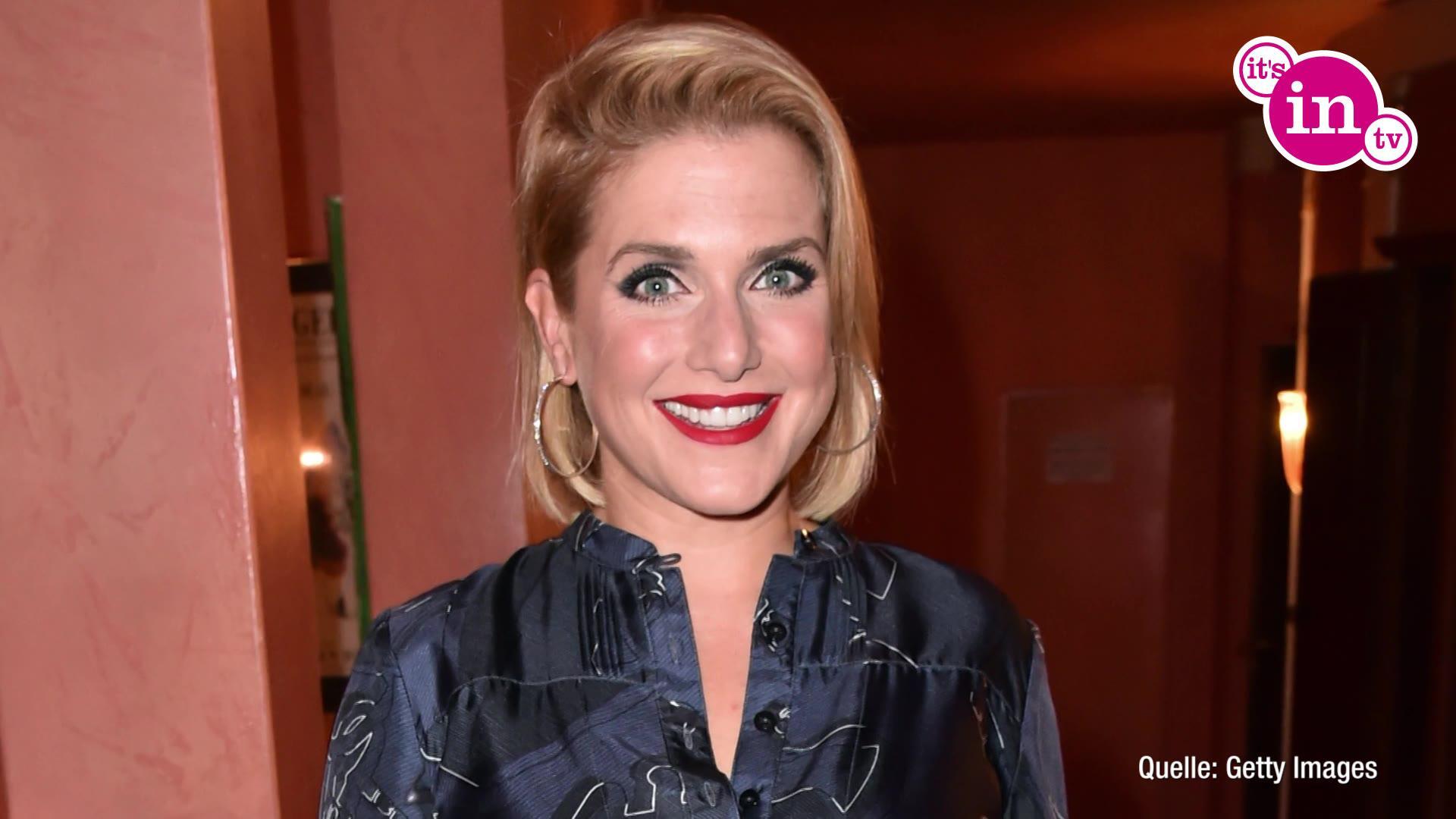 Bild zu Jeanette Biedermann zeigt sich ohne Make-Up