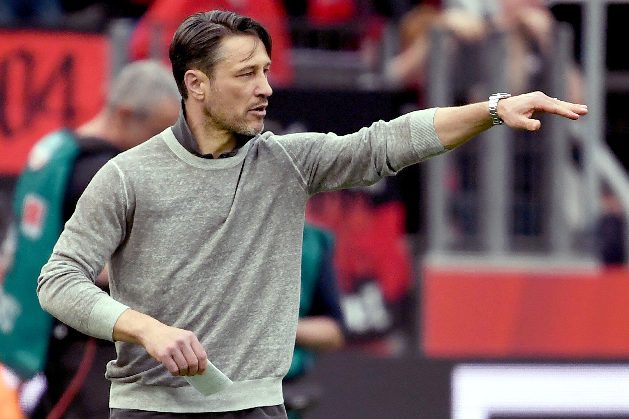 Bild zu Niko Kovac, Bundesliga, Bayer 04 Leverkusen - Eintracht Frankfurt, BayArena, 30. Spieltag