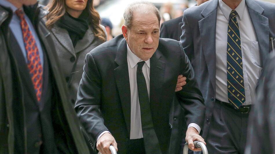 Prozess gegen Ex-Filmmogul Weinstein startet