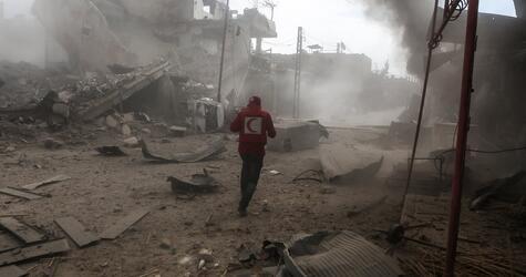 Angriffe in syrischem Rebellengebiet bei Damaskus