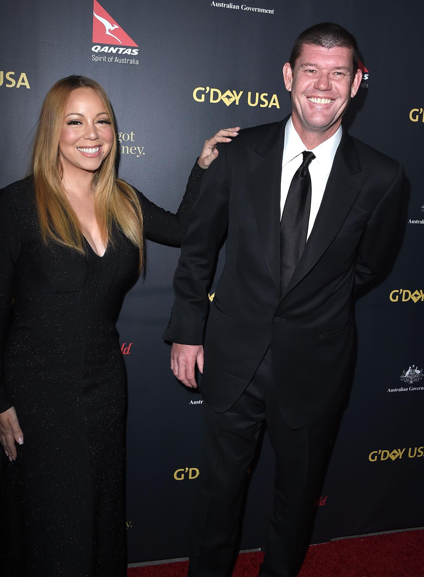 Bild zu Mariah Carey, James Packer, Trennung