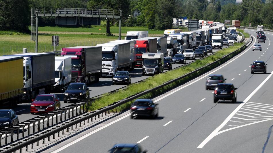 Blockabfertigung für LKW's
