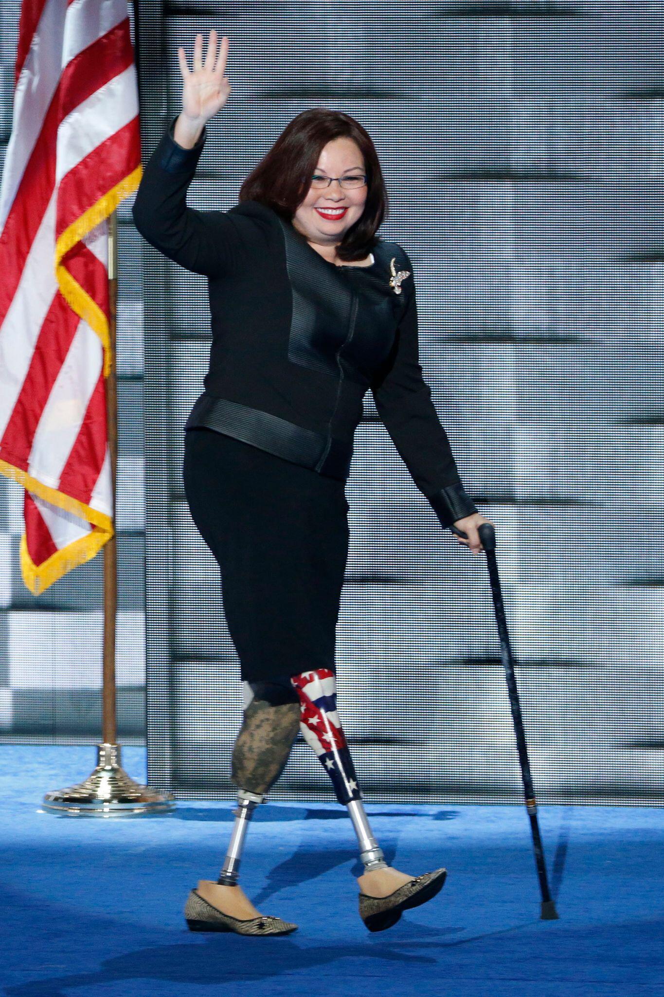 Bild zu Mit wem Biden regieren könnte - Tammy Duckworth