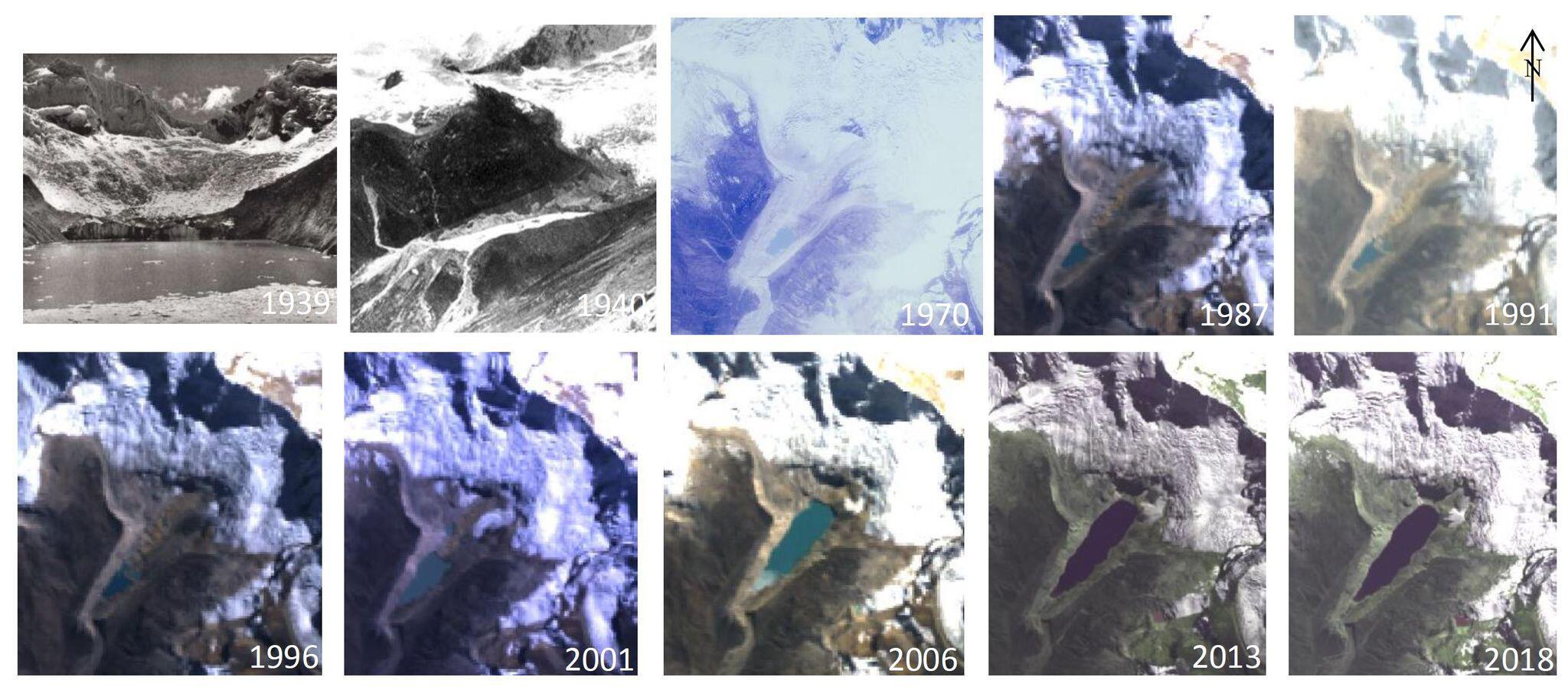 Bild zu Gletschersee