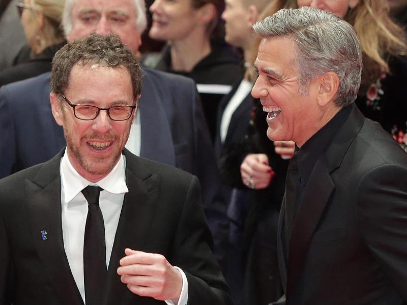 Bild zu Ethan Coen und George Clooney