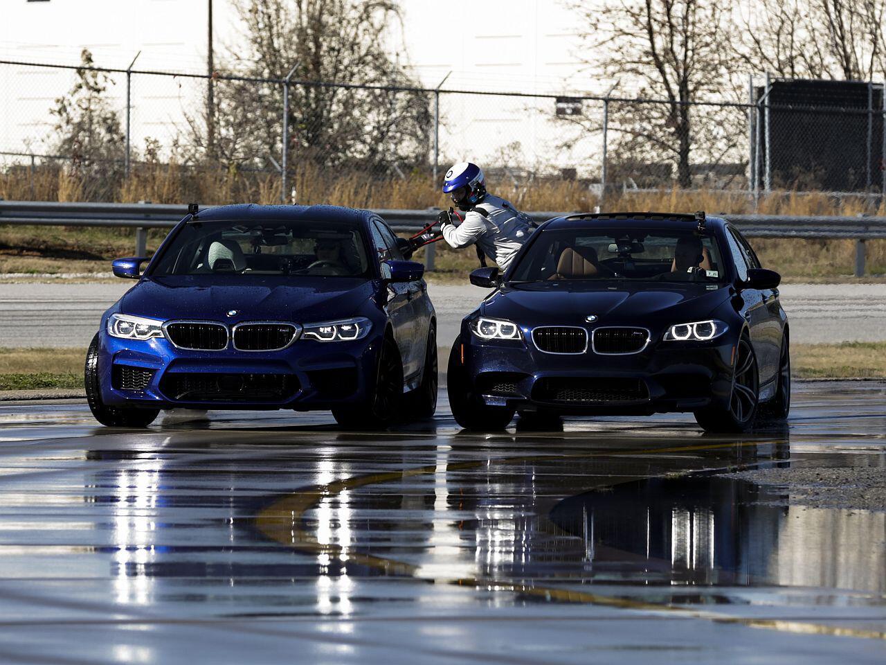 Bild zu BMW M5 driftet zum Weltrekord