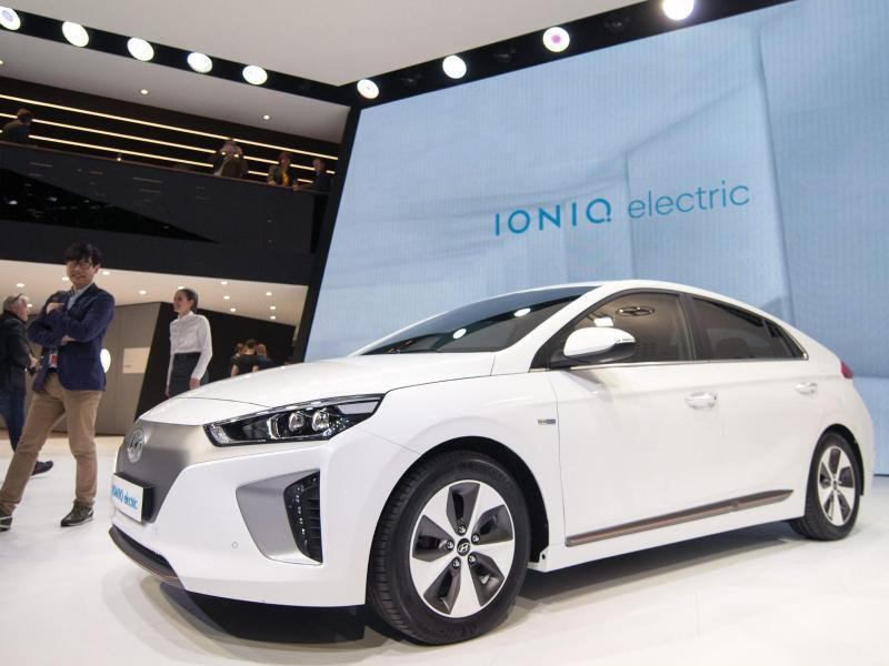 Bild zu Hyundai Ioniq electric