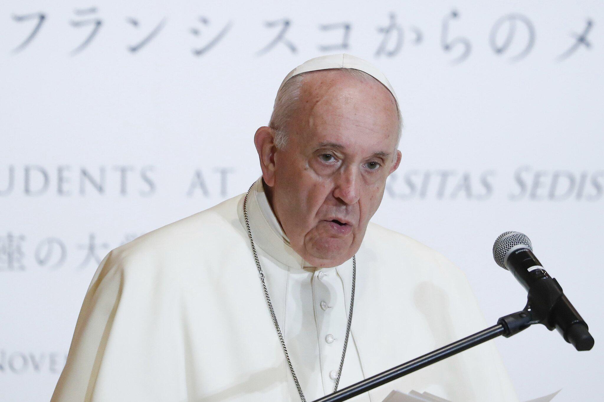 Bild zu Papst Franziskus in Japan