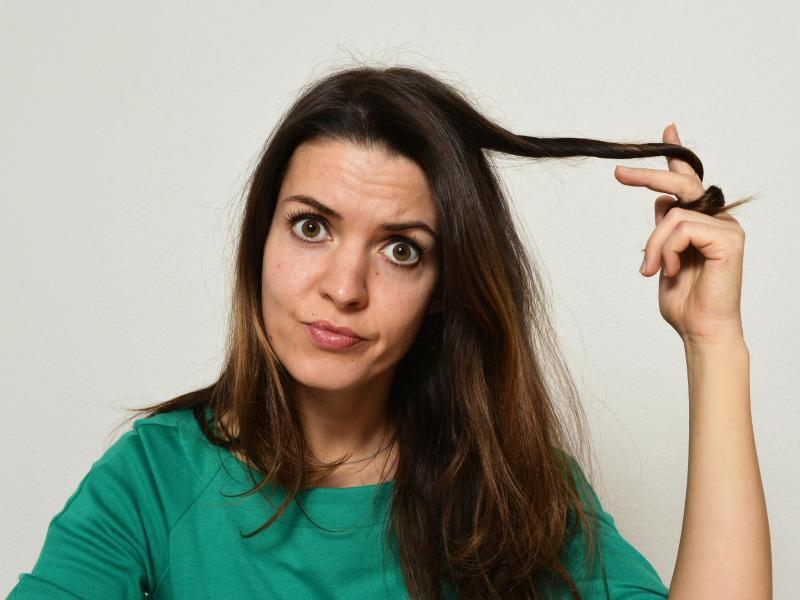 Bild zu Haar-Pflege