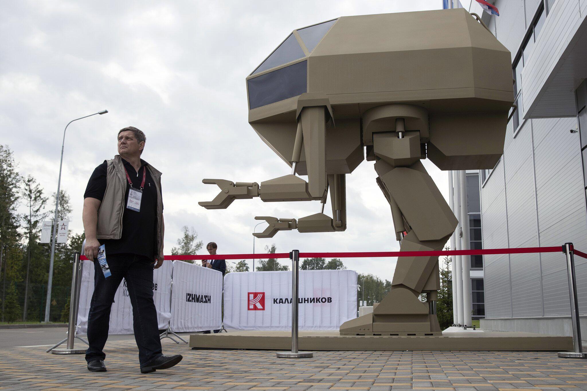 Bild zu Russische Militär-Show
