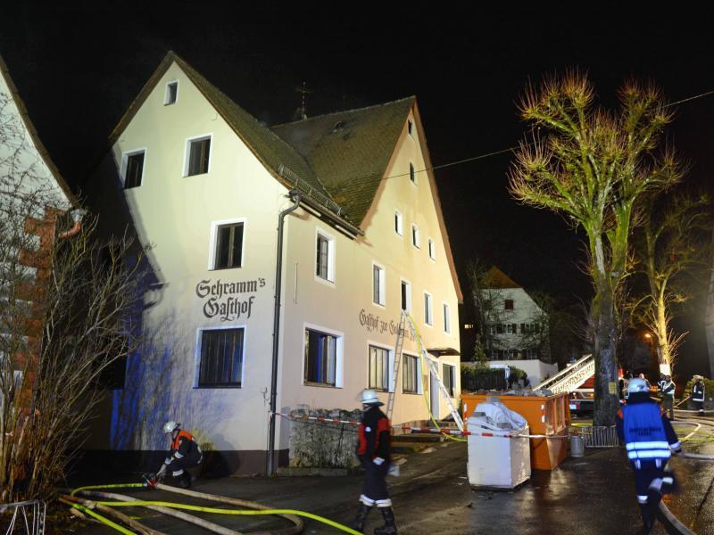 Bild zu Feuerwehreinsatz