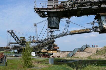 Maschinen-Landschaft im Technik-Park