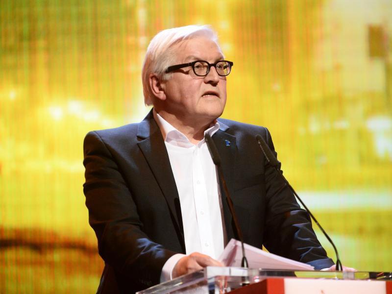 Bild zu 66. Berlinale - Frank-Walter Steinmeier