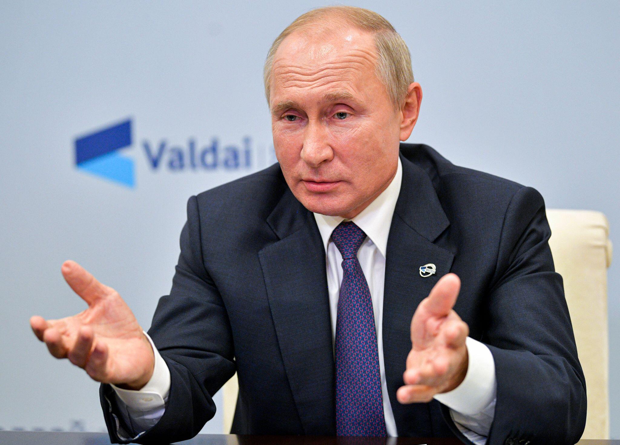 Bild zu Russlands Präsident Putin beim «Waldai»-Klub
