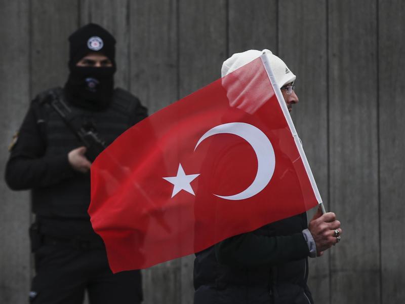 Bild zu Anspannung in der Türkei