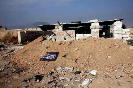 Syrisches Kampfgebiet
