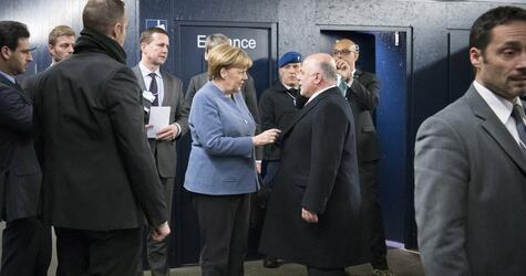 Angela Merkel, Haidar al Abadi, Weltwirtschaftsforum,